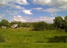 Продается участок 12 соток в деревне Мерлеево (Чеховский район).