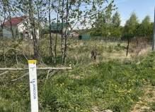 Участок возле леса 16 соток, деревня Кудаево,территория Сосновый Берег, Чеховски...