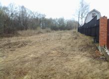 Участок 12 соток в деревне Хоросино, Чеховский район