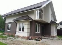 Эксклюзив! Двухэтажный дом  в Чеховском районе  деревня Пешкова
