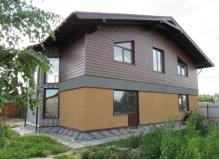 Дом 232 м² на участке 10 соток Чеховский район