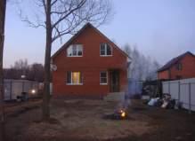 Дом на берегу реки, деревня Сергеево,Чеховский район