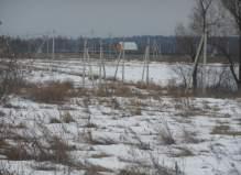 Участок 25 соток (СНТ) в деревне Дубровки Чеховского района