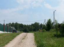 Участок 12 соток в Перхурово, Чеховский район, с выходом к речке