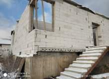 Недостроенный дом  вблизи деревни Курниково Чеховского района