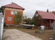 Дом рядом с деревней Красные Орлы, Чеховский район