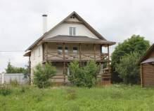 Новый дом 240 м2 и баня в Чеховском районе, деревня Углешня