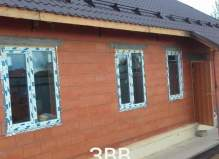 дом 130 м2 в деревне Алексеевка.
