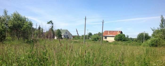 Земельный участок 25 соток у озера в деревне Ишино, Чеховский район., фотография