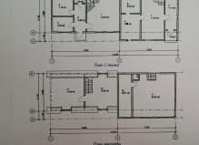 Продаётся 3-этажный дом 263м2 в деревне Поповка